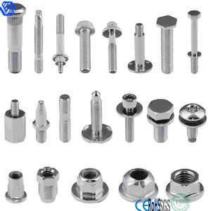 High Tensile Steel Auto Parts Fasteners Bolts and Nuts pictures & photos
