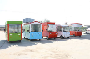 Mobile Kiosk/Moving Restaurant Car/Dining Car/Food Car pictures & photos