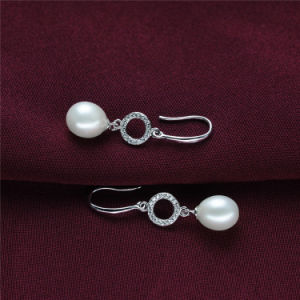 Long Style Natural Real Pearl Earring Jewelry pictures & photos