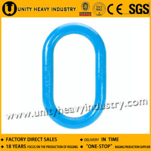 Forged Alloy Steel A343 Flat Master Chain Link pictures & photos