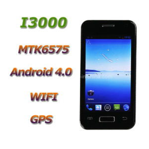 4.0 Inch WCDMA Mtk6575 Android 4.0 Capacitive Screen GPS WiFi Smartphone (I3000)