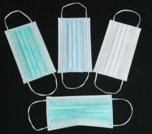 Disposable Non-Woven Face Mask for Medical Use pictures & photos