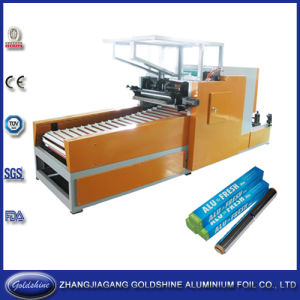 Aluminium Foil Small Roll Making Machine (GS-AF-600) pictures & photos