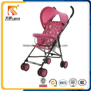 Light Weight Green Color Baby Stroller 2017 New Design pictures & photos