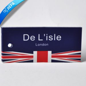 Eco-Friendly Die Cut Oak Tree Clothing Hang Tags pictures & photos