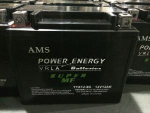 12V12ah Motorcycle Battery pictures & photos