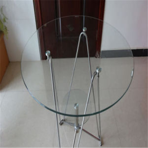 Round Clear Tempered Glass for Dining/Coffee Table pictures & photos