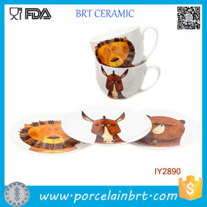 Custom Dinnerware Set 8PCS Cup & Plate Porcelain pictures & photos