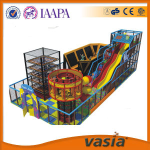 Amusement Park Equipment Kids Trampoline Park Rope Course Forest Indoor Playground pictures & photos