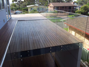 Stainless Steel Glass Balcony Railing Designs pictures & photos