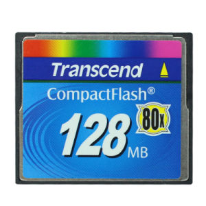 128MB 80X Compactflash CF Compact Flash Transcend Memory Card pictures & photos
