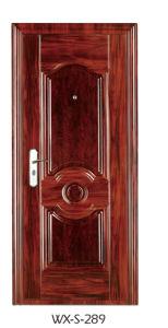 High Quality Steel Security Door (WX-S-289) pictures & photos