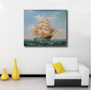 Sailing Ship Painting for Wall Decoration pictures & photos