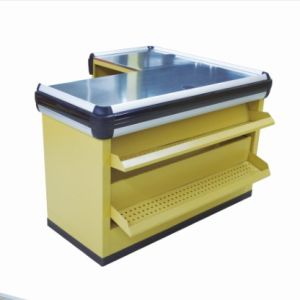 Deluxe Supermarket Store Cash Counter by Direct Manufacturer pictures & photos