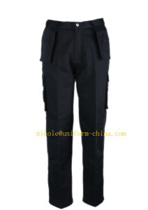 Wholsale Cheap Heavy Duty Mens Cargo Work Pants with Many Pockets pictures & photos
