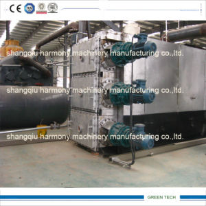 Tyre and Plastic Continuous Pyrolysis Plant 365 Days-24hours Non-Stop pictures & photos