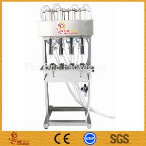 Multiple Heads Vacuum Liquid Filler, Liquid Level Control Filling Machine Tovlf-4 pictures & photos