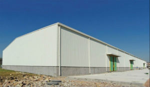 High Quality Large Span Prefabricated Warehouse Construction (KXD-SSW6) pictures & photos