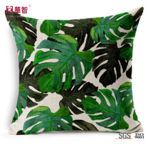 Sofa Decorative Printing Linen Cushions pictures & photos
