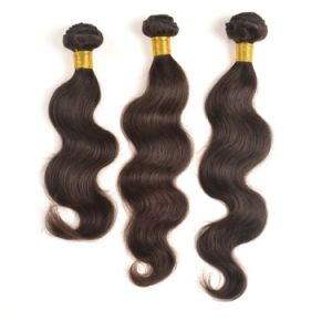 Factory Price Remy Virgin Indian Human Hair Weaving pictures & photos