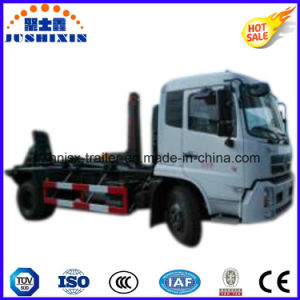 Dongfeng Hook Lift Garbage/Refuse Truck with Arm Pull pictures & photos