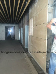 Marble Honeycomb Panel Dry Hanging Installing pictures & photos