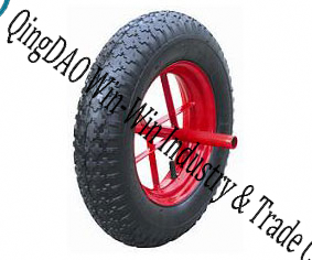 Pneumatic Rubber Wheel for Handtruck (14*3.50-8) pictures & photos
