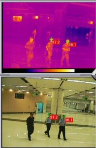 Dual Channel Temperature Detection Security Camera pictures & photos