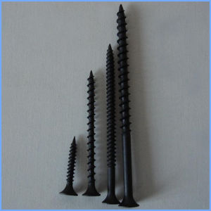 Fine Thread C1022 Material Black Drywall Screw pictures & photos