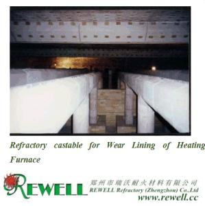 Refractory Castable for Wear Lining of Heating Furnace pictures & photos