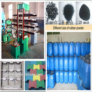 Manual Push-Pull Mould Type Rubber Vulcanizing Press/Rubber Tile Curing Press pictures & photos