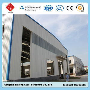Earth Quake Resistance Steel Frame Structure Workshop/Warehouse pictures & photos