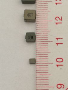 Power Inductor, 1.5uh 20%, Temperature Rise Current: 15A, Dcr= 5.8mΩ Size: 10*10*4.0mm pictures & photos