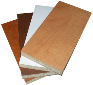 Melamine Particle Board with Competitive Price ISO9001: 2000 Standard (25mm)