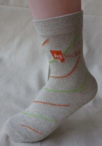Silver Anti-Odor Socks pictures & photos