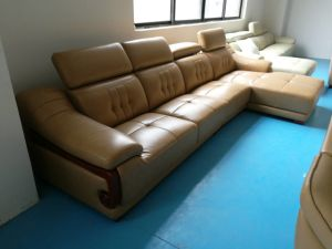 America Leather Furniture, China Sofas, Leather Sectional Sofa (619) pictures & photos