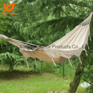 100% Handmade Garden Fringes Hammock Bed pictures & photos