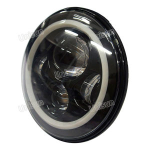7inch 40W Round LED 4X4 Headlight with Halo pictures & photos