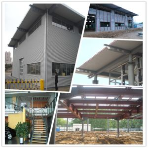 Steel Structure Workshop Building by Pre Fabricated pictures & photos