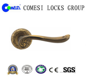 Zamak Rosette Door Handle Cm39-210 pictures & photos