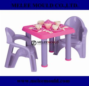 Plastic Kids Table and Chairs Mould pictures & photos
