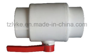 Lastic PVC Compact Ball Valve for Water Supply with ISO9001: 2008 (JIS, ANSI, DIN, CNS) pictures & photos