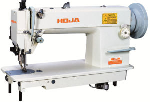 Heavy Duty Top and Buttom Feed Lockstitch Sewing Machine Hj0302