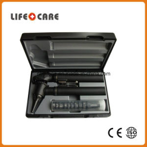 Medical Portable LED Fiber Optic Otoscope Set pictures & photos