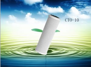 New 2014 Universal Water Filter Activated Carbon Cartridge, 10 Inch CTO-10 Block Carbon Filter Sediment Water Purification System pictures & photos