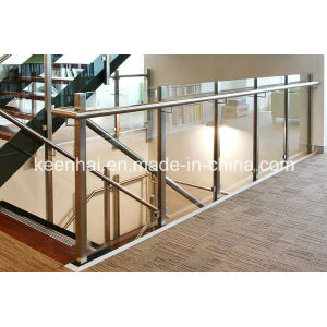 China Wholesale Stainless Steel Balustrade with Glass pictures & photos
