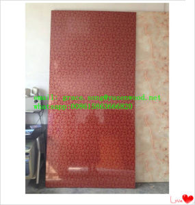 Hot Sell 5~18mm High Glossy Marble Melamine MDF pictures & photos