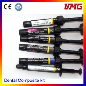 Dental Filling Material Dental Composite Kit with 6 Color Set pictures & photos