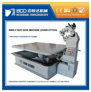 Fixed Table Tape Edge Machine (BWB-5) pictures & photos
