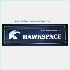 Window Display Customized Logo Acrylic LED Sign Board pictures & photos